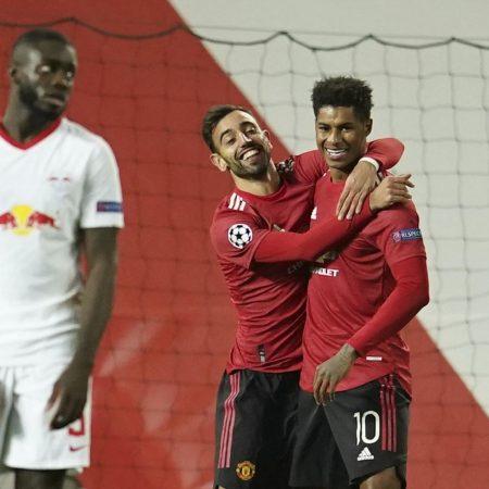 Apuestas Leipzig vs Manchester United 08/12/2020 Champions League