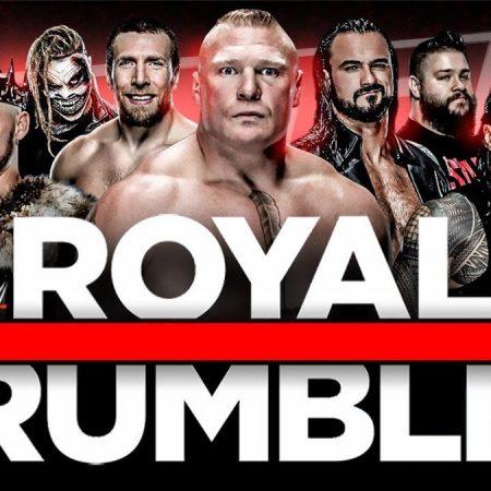Apuestas WWE Royal Rumble 31/01/2021