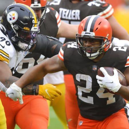 Apuestas Browns vs Steelers 10/01/21 NFL
