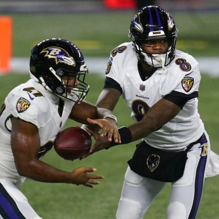 Apuestas NFL Tennessee Titans vs Baltimore Ravens 22/11/20