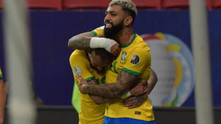 Apuestas Brasil vs Perú 17/06/2021 Copa América