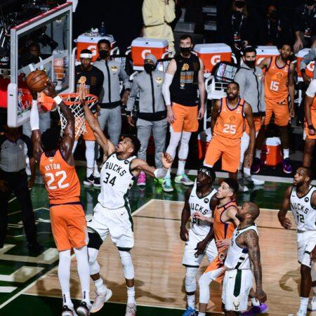 Apuestas Milwaukee Bucks vs Phoenix Suns 17/07/2021 NBA