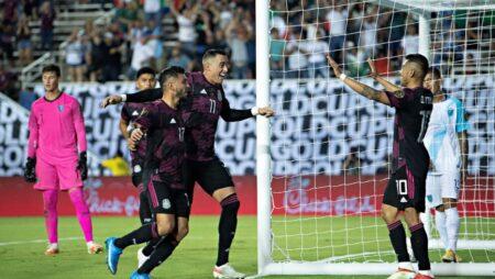 Apuestas México vs El Salvador 18/07/2021 Copa Oro