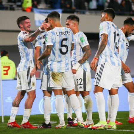 Apuestas Argentina vs Perú 14/10/2021 Eliminatoria Conmebol