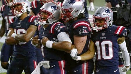 Apuestas NFL New England Patriots vs Houston Texans 22/11/20
