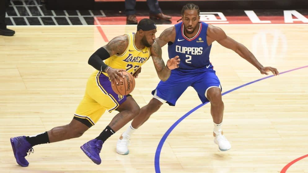 Apuestas LA Clippers vs LA Lakers NBA 22/12/2020