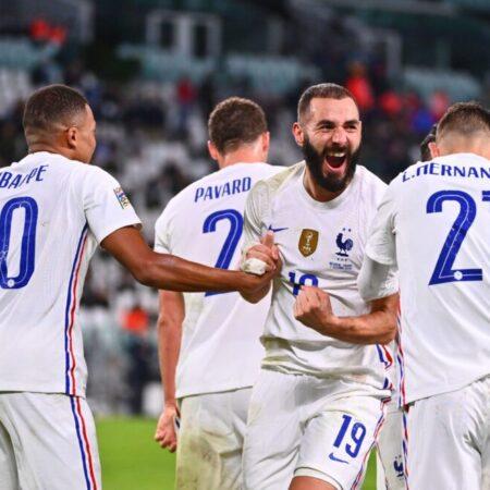 Apuestas España vs Francia 10/10/2021 Nations League
