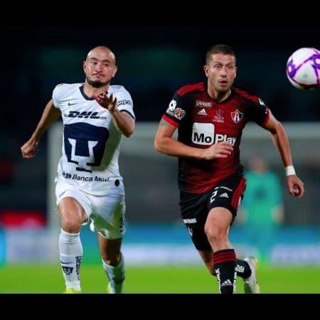 Apuestas Atlas vs Pumas Liga MX 03/08/2020