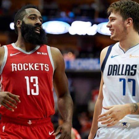 Apuestas Mavericks vs Rockets NBA 31/07/2020