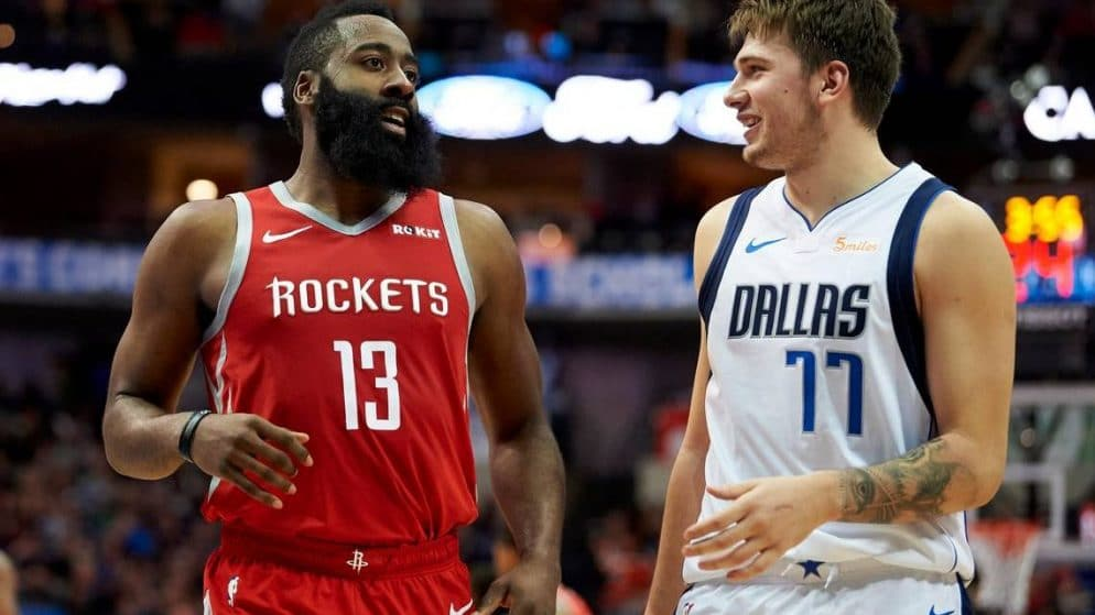 Apuestas Mavericks vs Rockets NBA 31/07/2020