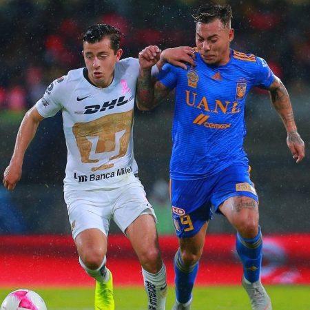 Apuestas Tigres vs Pumas Liga MX 22/08/20