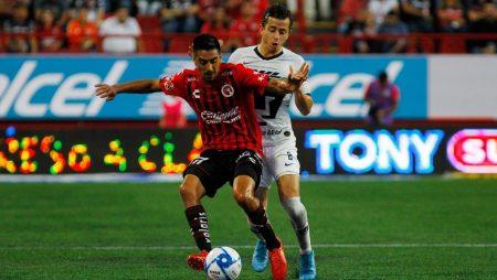 Apuestas Pumas vs Xolos de Tijuana 30/08/20 Liga MX