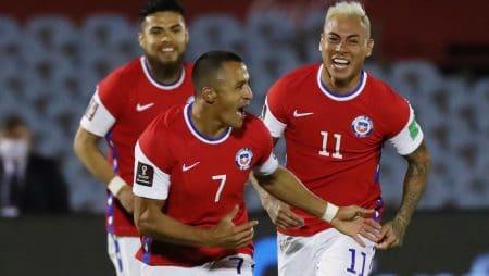 Apuestas Chile vs Colombia 13/10/2020 Eliminatoria Conmebol