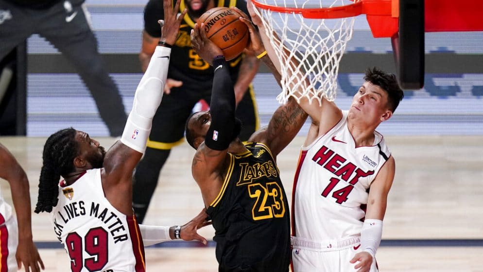 Apuestas Los Angeles Lakers vs Miami Heat Finales NBA Juego 6 11/10/20