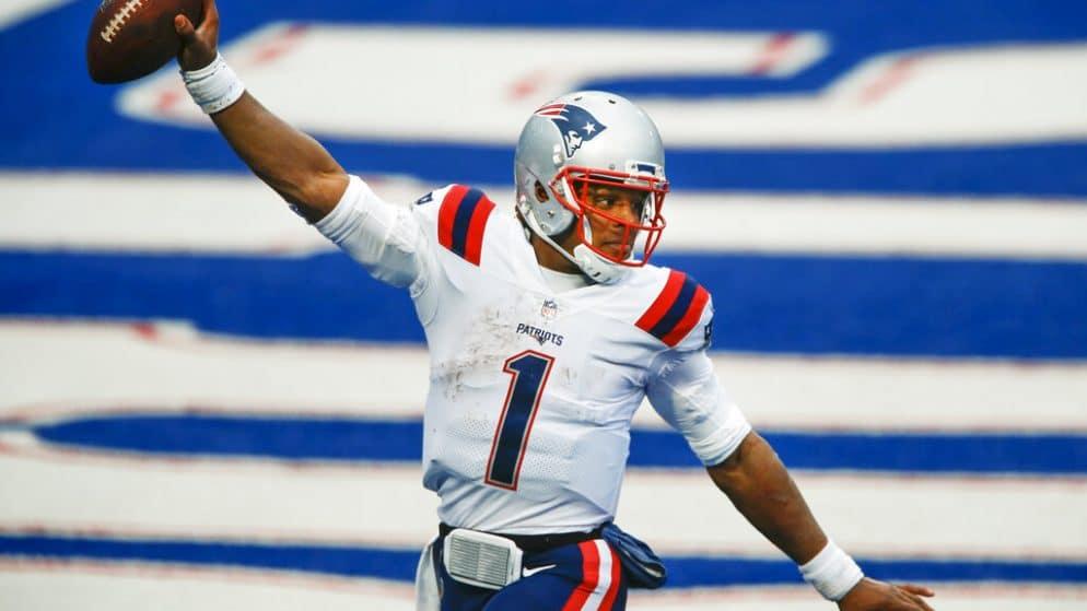 Apuestas NFL Baltimore Ravens vs New England Patriots 15/11/20