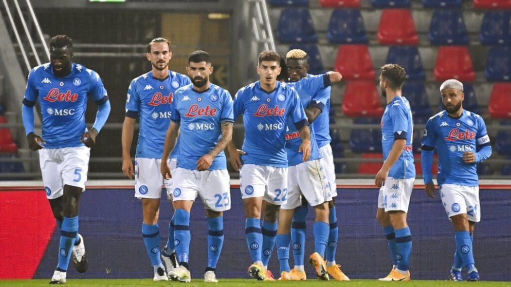 Apuestas Napoli vs Rijeka 26/11/20 Europa League