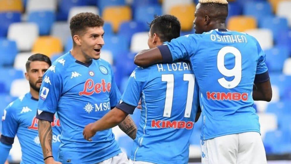 Apuestas Nápoles vs Roma Serie A 29/11/20