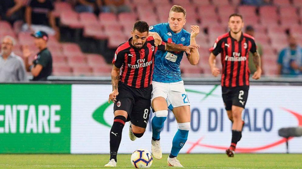 Apuestas Napoli vs Milan 21/11/2020 Serie A