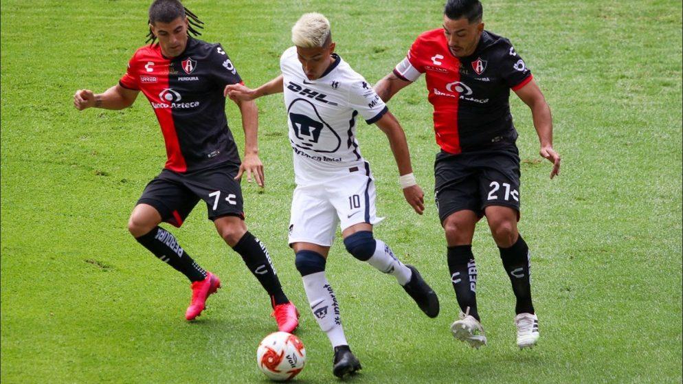 Apuestas Pumas vs Atlas 31/01/2021 Liga MX