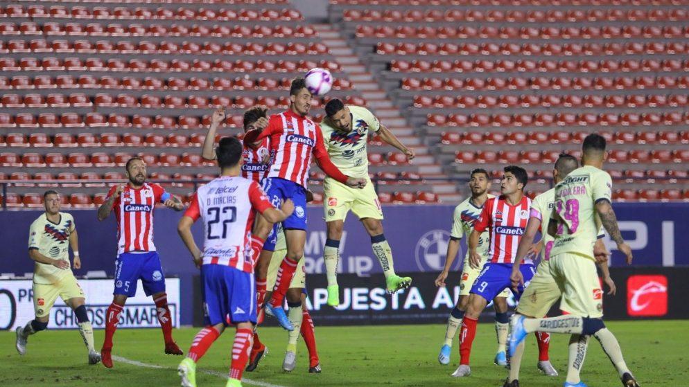 Apuestas América vs Atlético de San Luis 09/01/2021 Liga MX