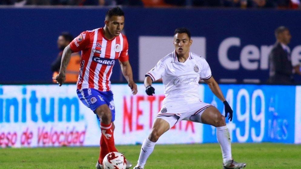 Apuestas Atlético de San Luis vs Chivas 21/01/2021 Liga MX