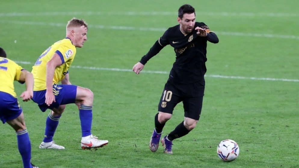 Apuestas Barcelona vs Cádiz 21/02/2021 LaLiga