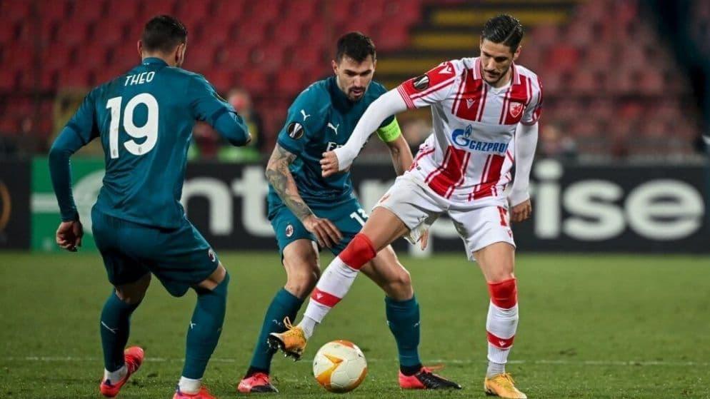 Apuestas Milan vs Estrella Roja 25/02/2021 Europa League