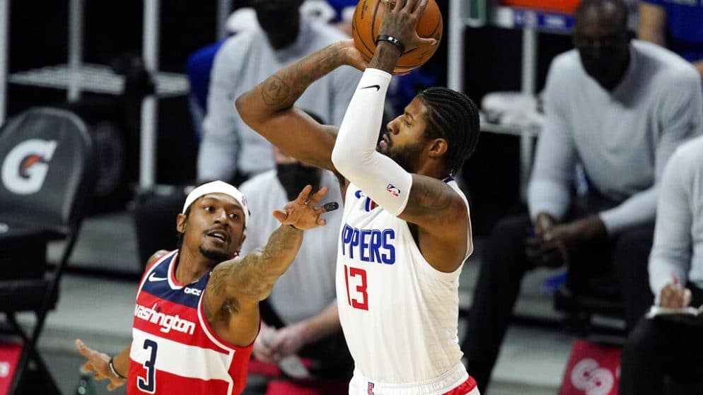 Apuestas Los Angeles Clippers vs Washington Wizards 04/03/2021 NBA