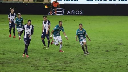 Apuestas Monterrey vs León 10/03/2021 Liga MX
